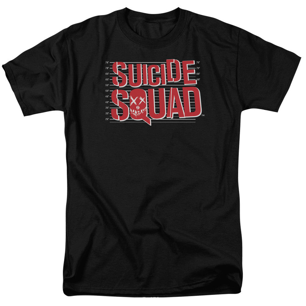 Suicide Squad Lineup Logo Adult Tee