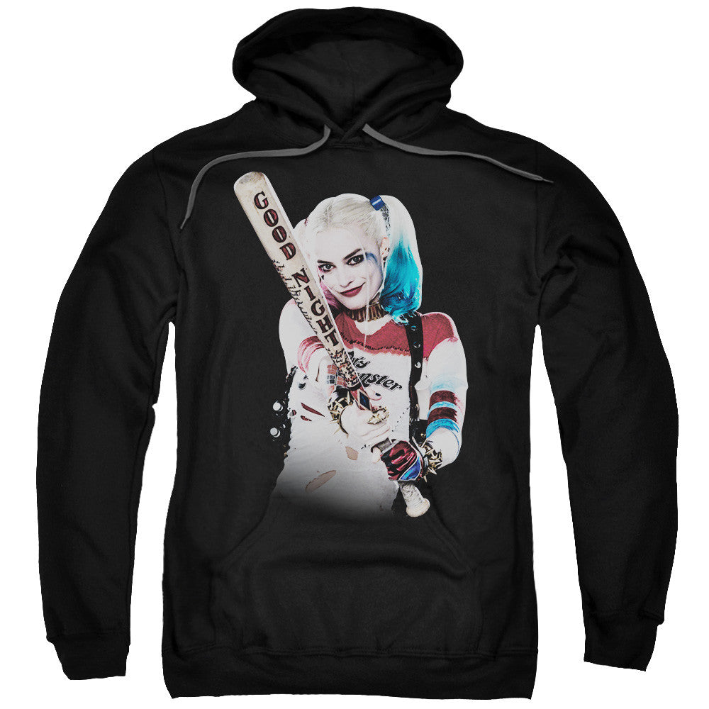 Suicide Squad Bat at You Adult Hoodie - Black