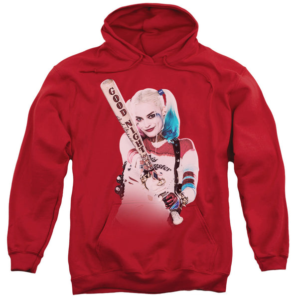 Suicide Squad Bat at You Adult Hoodie - Red