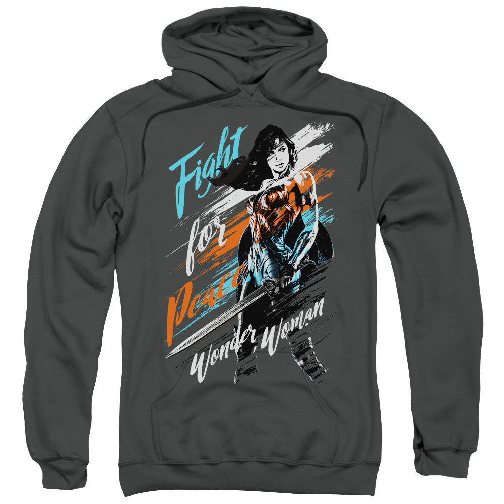 Wonder Woman Movie Fight For Peace Adult Hoodie