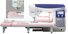 JUKI HZL-DX2000QVP (Quilters edition)