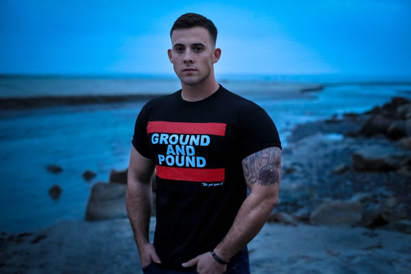 GROUND AND POUND TEE