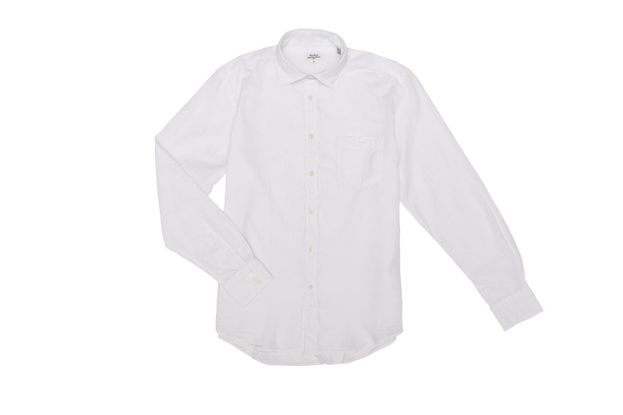 Light Weight Cotton Shirt White Kid
