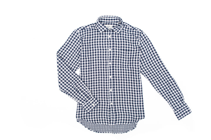 Regular Fit Double Faced Gingham Shirt