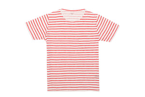 Pocket Crew In Painted Stripe