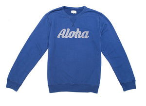 "Crew Neck ""Aloha"" Sweat"