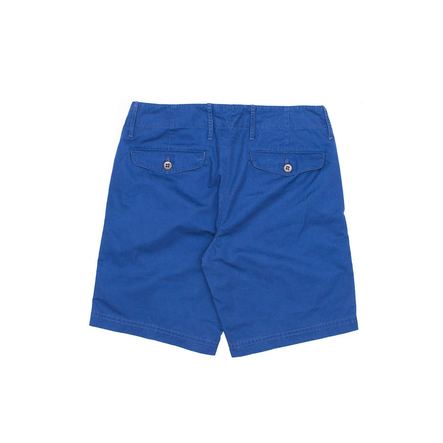 Gaberdine Short In Indigo