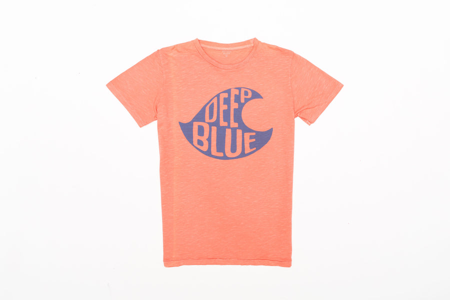 Hartford Tee Deep Blue Kid