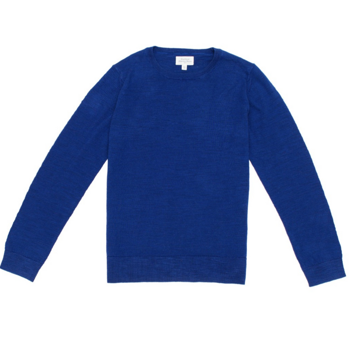 Mens Cotton Crew Knit