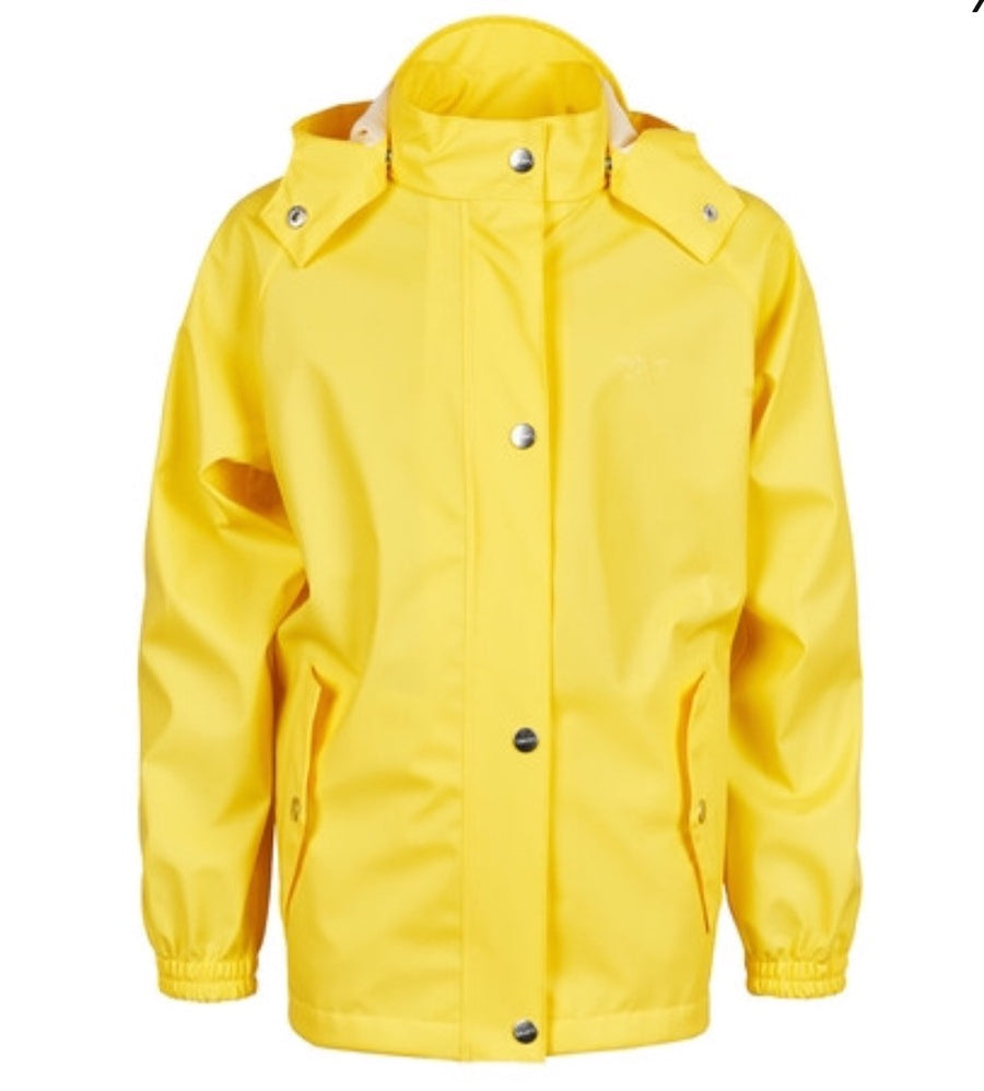 UNISEX Childs Yellow Raincoat Unlined