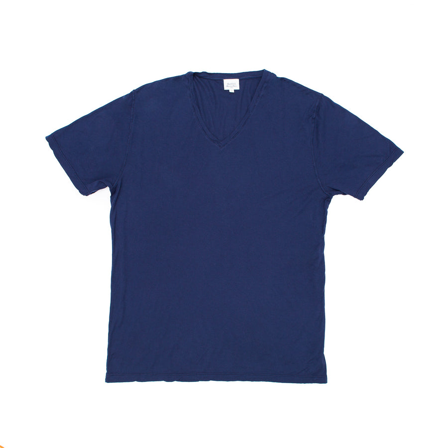 Light Vee Tee - Navy