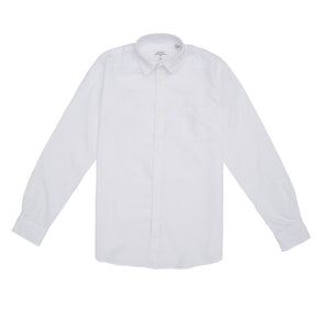 Light Cotton Shirt White Kid