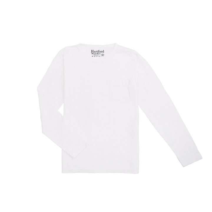 Hartford Long Sleeve T Shirt White