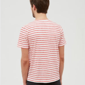 Pocket Crew In Painted Stripes
