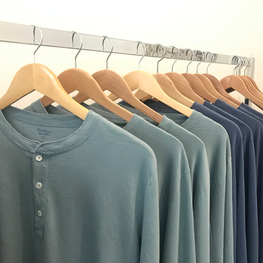 Hartford Henley Men Celedon