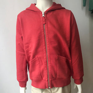 Hartford Zipper Hoody Red