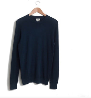 Honeycomb Crew Dark Blue