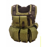 Combat Plate Carrier with Removable Backpack|Porta Placas Para Combate Con Mochila Desmontable