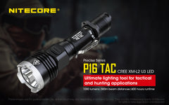 Tactical Flashlight P16TAC By NITECORE®