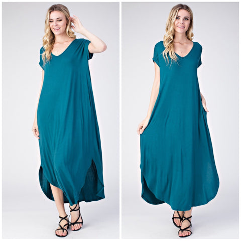 Get So Jaded Maxi Dress - The Bustling Boutique