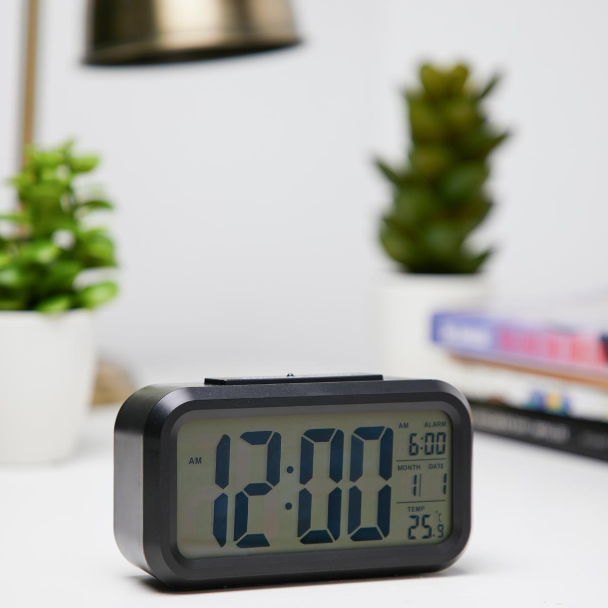 Checkmate Chapman Multifunction Digital Alarm Clock Black 14cm VGW 1065Black Lifestyle3