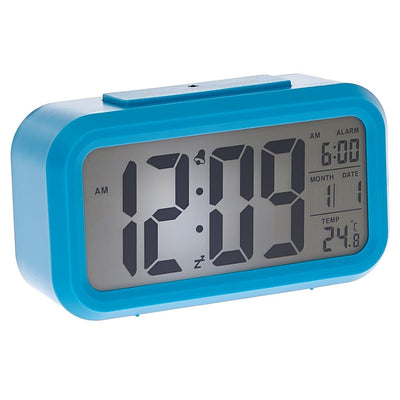 Checkmate Chapman Multifunction Digital Alarm Clock Blue 14cm VGW-1065Blue Lifestyle2