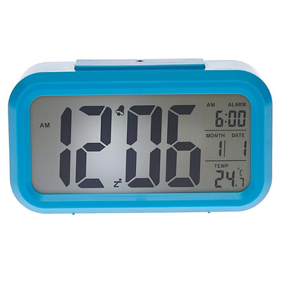 Checkmate Chapman Multifunction Digital Alarm Clock Blue 14cm VGW-1065Blue Lifestyle