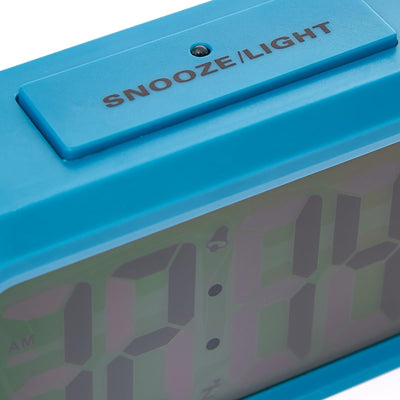 Checkmate Chapman Multifunction Digital Alarm Clock Blue 14cm VGW-1065Blue Backlight2