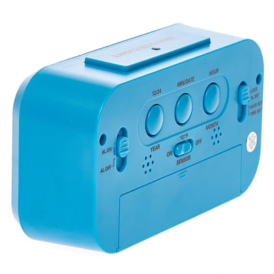 Checkmate Chapman Multifunction Digital Alarm Clock Blue 14cm VGW-1065Blue Top2