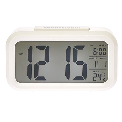 Checkmate Chapman Multifunction Digital Alarm Clock White 14cm VGW-1065White Top2