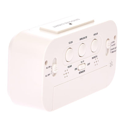Checkmate Chapman Multifunction Digital Alarm Clock White 14cm VGW-1065White Lifestyle