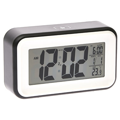 Checkmate Cranston Multifunction Digital Alarm Clock Black 15cm VGW 1608Black 2