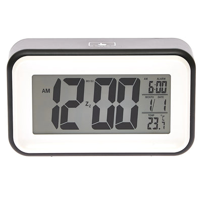 Checkmate Cranston Multifunction Digital Alarm Clock Black 15cm VGW 1608Black 4