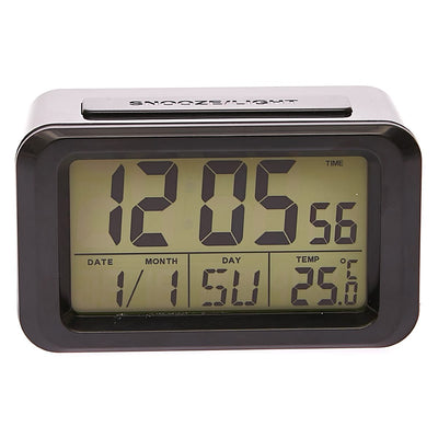Checkmate Hugo Multifunction Digital Alarm Clock Black 12cm VGW 8773B Backlight1
