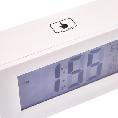 Checkmate Induction Digital Alarm Clock 15cm VGW 8775 Angle