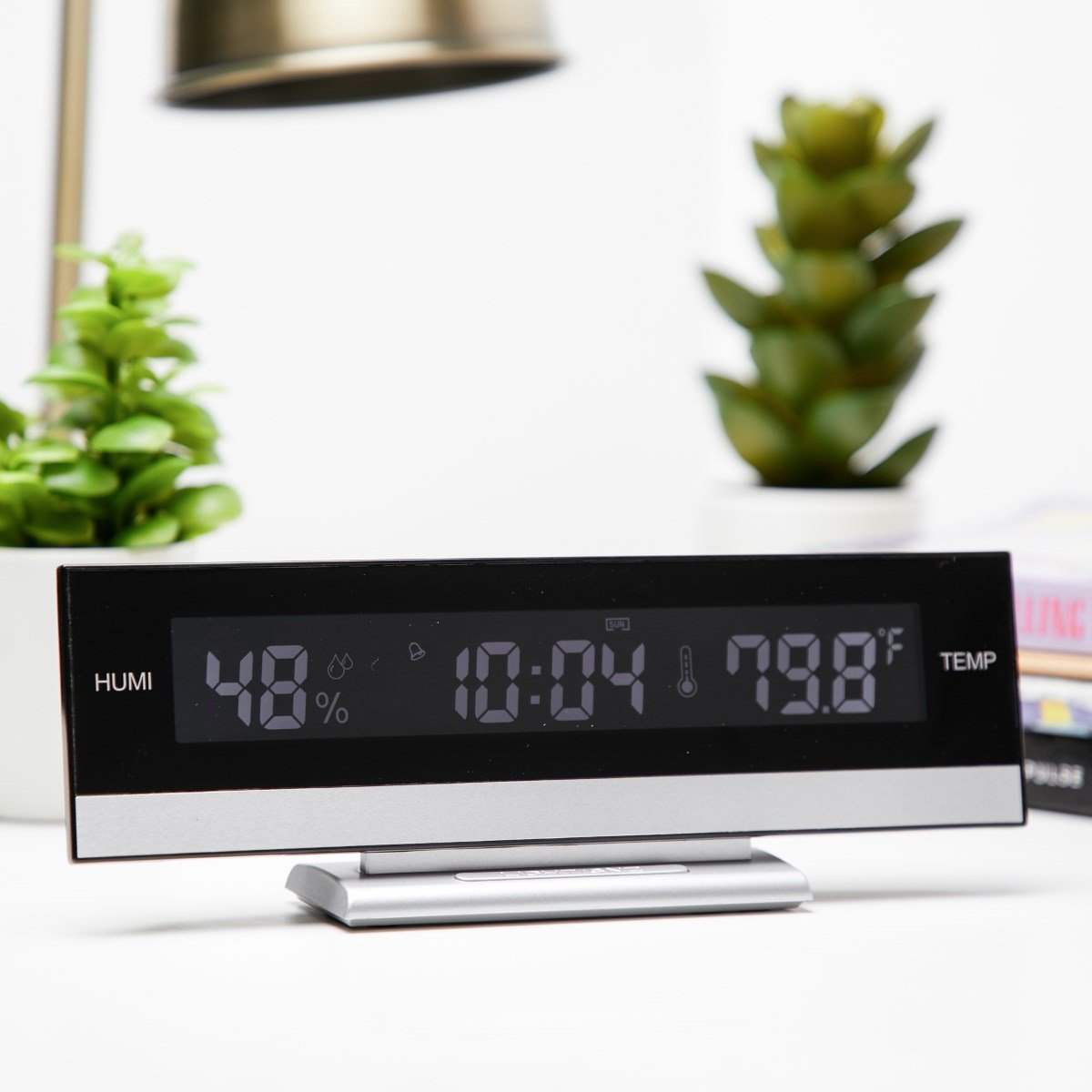 Checkmate LCD Multifunction table clock Desk Clock 24cm VGW 627 11