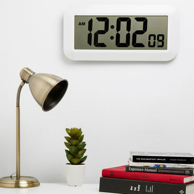 Checkmate Specter Jumbo LCD Wall and Desk Clock 42cm VGW 150 1
