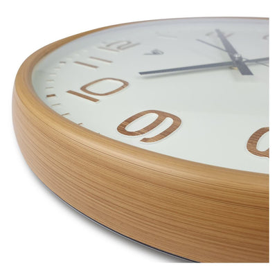 Victory Bayla Domed Face Wall Clock Brown 40cm CWH 6289 3