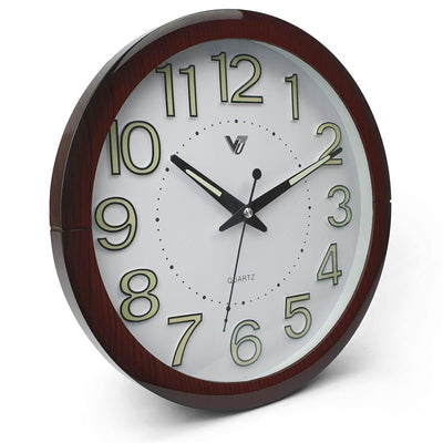 Victory Brandon Glow In The Dark Wall Clock 30cm CBL 2889 1