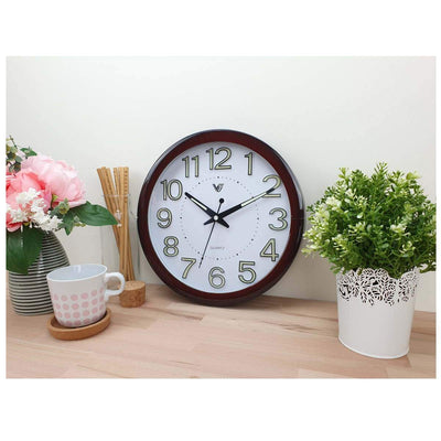 Victory Brandon Glow In The Dark Wall Clock 30cm CBL 2889 2