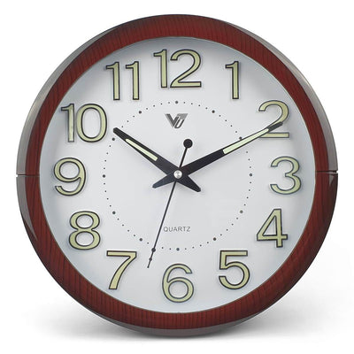Victory Brandon Glow In The Dark Wall Clock 30cm CBL 2889 3