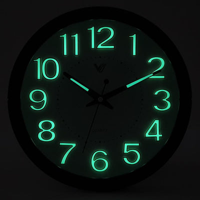 Victory Brandon Glow In The Dark Wall Clock 30cm CBL 2889 4