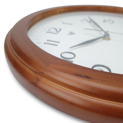 Victory Braxton Wooden Wall Clock Medium Brown 31cm CFR 300 5