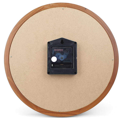 Victory Braxton Wooden Wall Clock Medium Brown 31cm CFR 300 6
