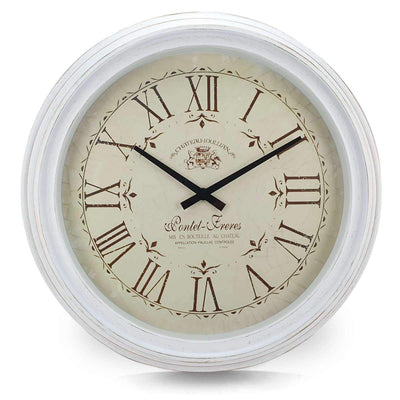 Victory Chateau Joullian Classic Wall Clock 61cm CNS 148 WHI 6