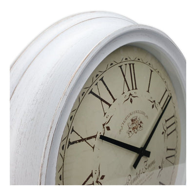 Victory Chateau Joullian Classic Wall Clock 61cm CNS 148 WHI 3