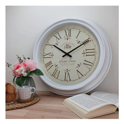 Victory Chateau Joullian Classic Wall Clock 61cm CNS 148 WHI 5
