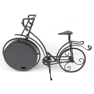 Victory Colton Artistic Metal Bicycle Desk Clock Black 34cm TAA 106B 2