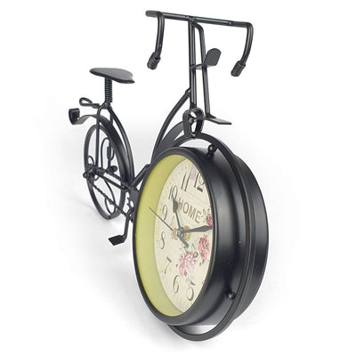Victory Colton Artistic Metal Bicycle Desk Clock Black 34cm TAA 106B 6