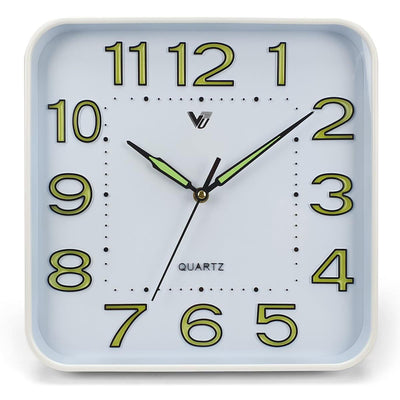 Victory Cordell Glow In The Dark Wall Clock White 30cm CJH 438 5